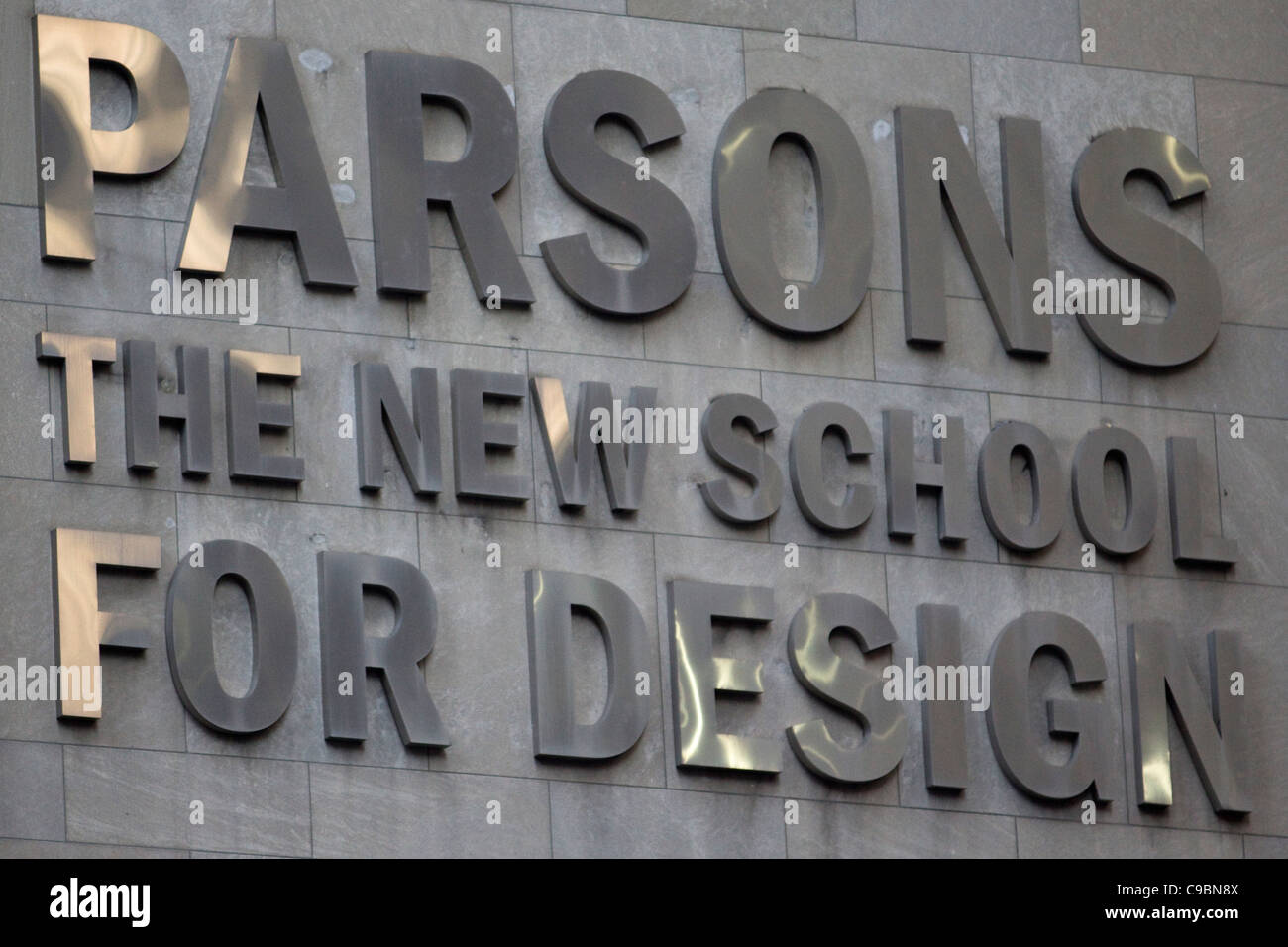 Parsons School Of Design In The Fashion District New York City Usa Stock Photo Alamy