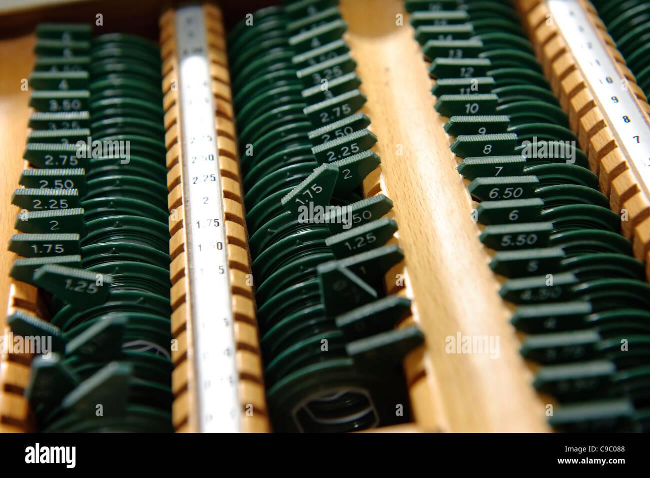 Optometry equipment Stock Photo: 40216296 - Alamy