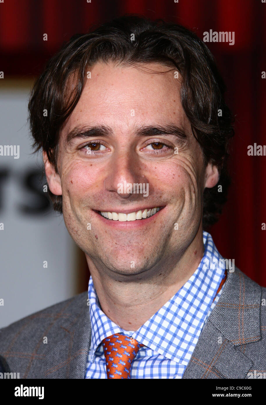 TODD LIEBERMAN THE MUPPETS. WORLD PREMIERE HOLLYWOOD LOS ANGELES CALIFORNIA USA 12 November 2011 - Stock Image