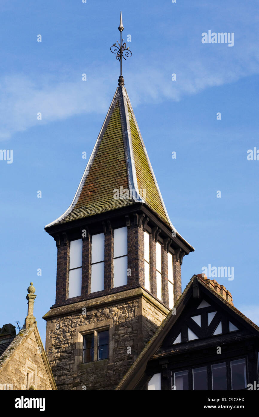 The Bell Tower, Brackley, Northamptonshire. - Stock Image