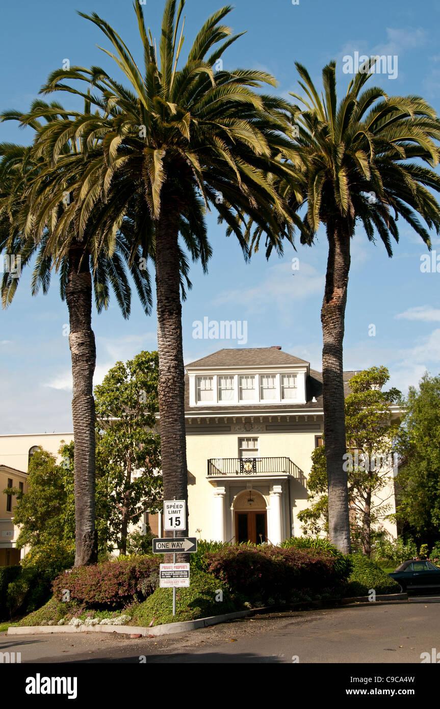 Presidio Heights of San Fransisco California United States - Stock Image