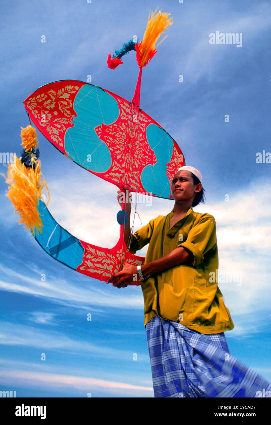 Traditional kite, Kota Bahru, Kelantan, Malaysia. Stock Photo