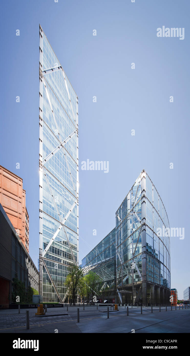 201 Bishopsgate, Broadgate Tower - Stock Image