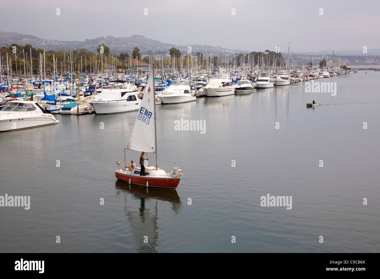 Dana Point Harbor - California - Stock Image