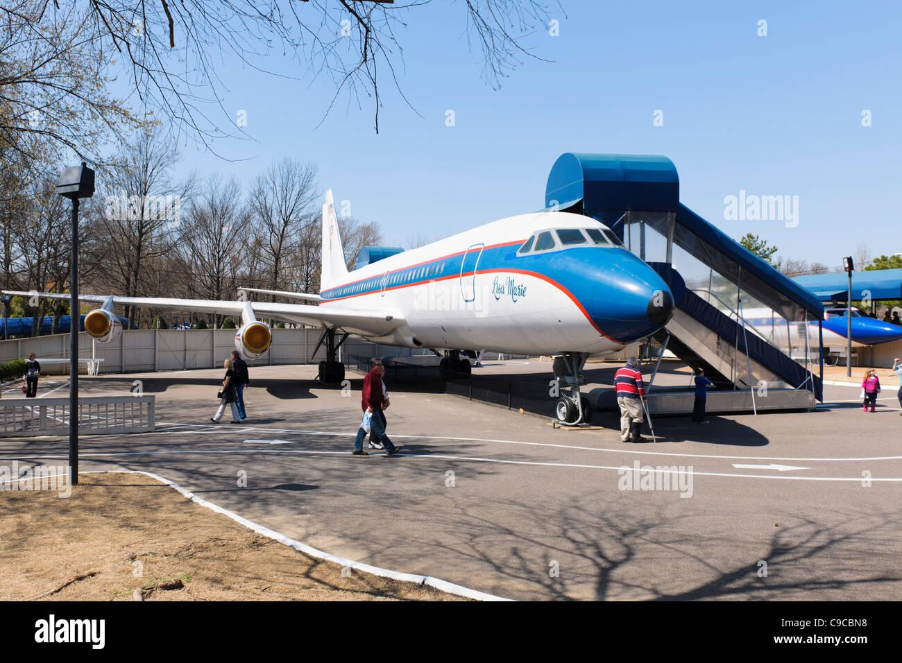 Lisa Marie Aeroplane, Graceland - Stock Image