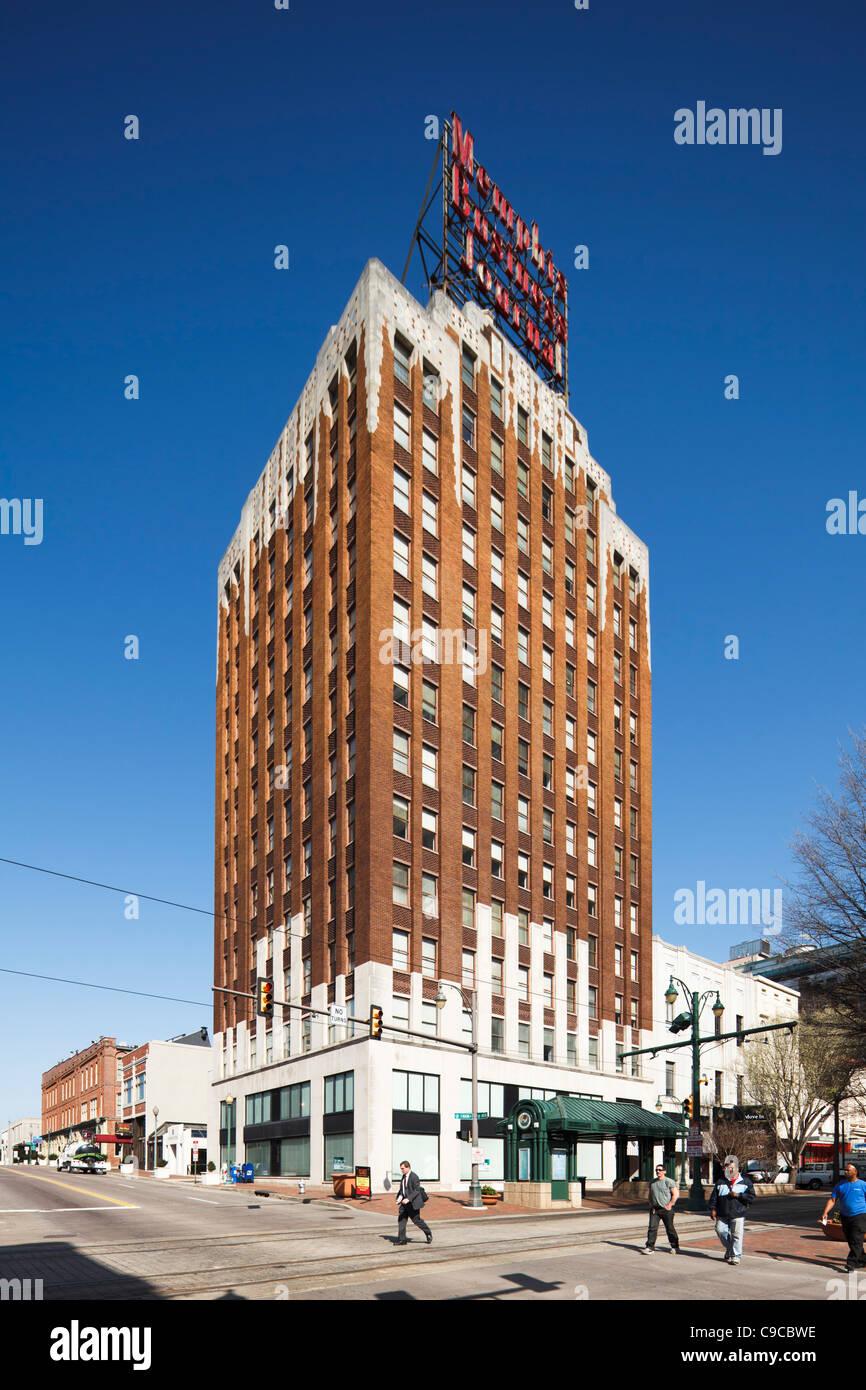 Memphis Business Journal Building - Stock Image