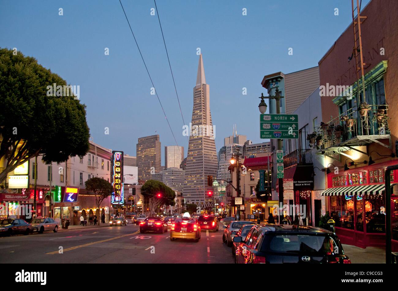 Restaurant Bar Cafe Little Italy San Francisco California