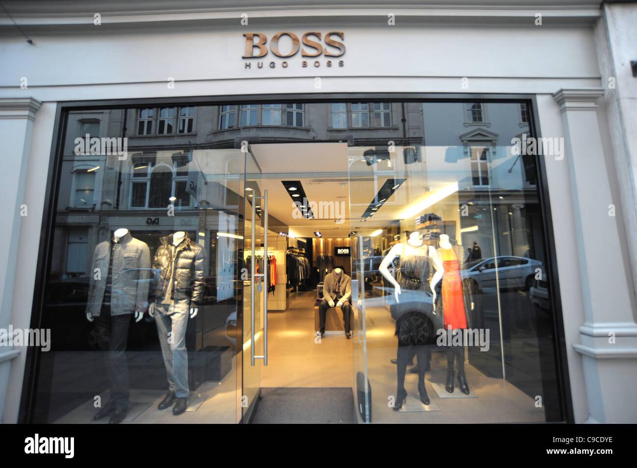 hugo boss store stock photos hugo boss store stock. Black Bedroom Furniture Sets. Home Design Ideas