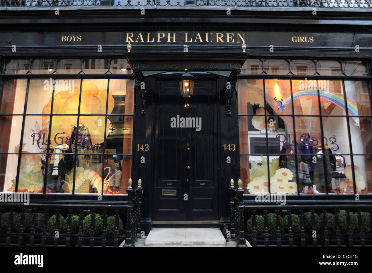6fa5a2e9d Exterior shot of the Ralph Lauren store on Bond Street London England 2011  - Image Copyright