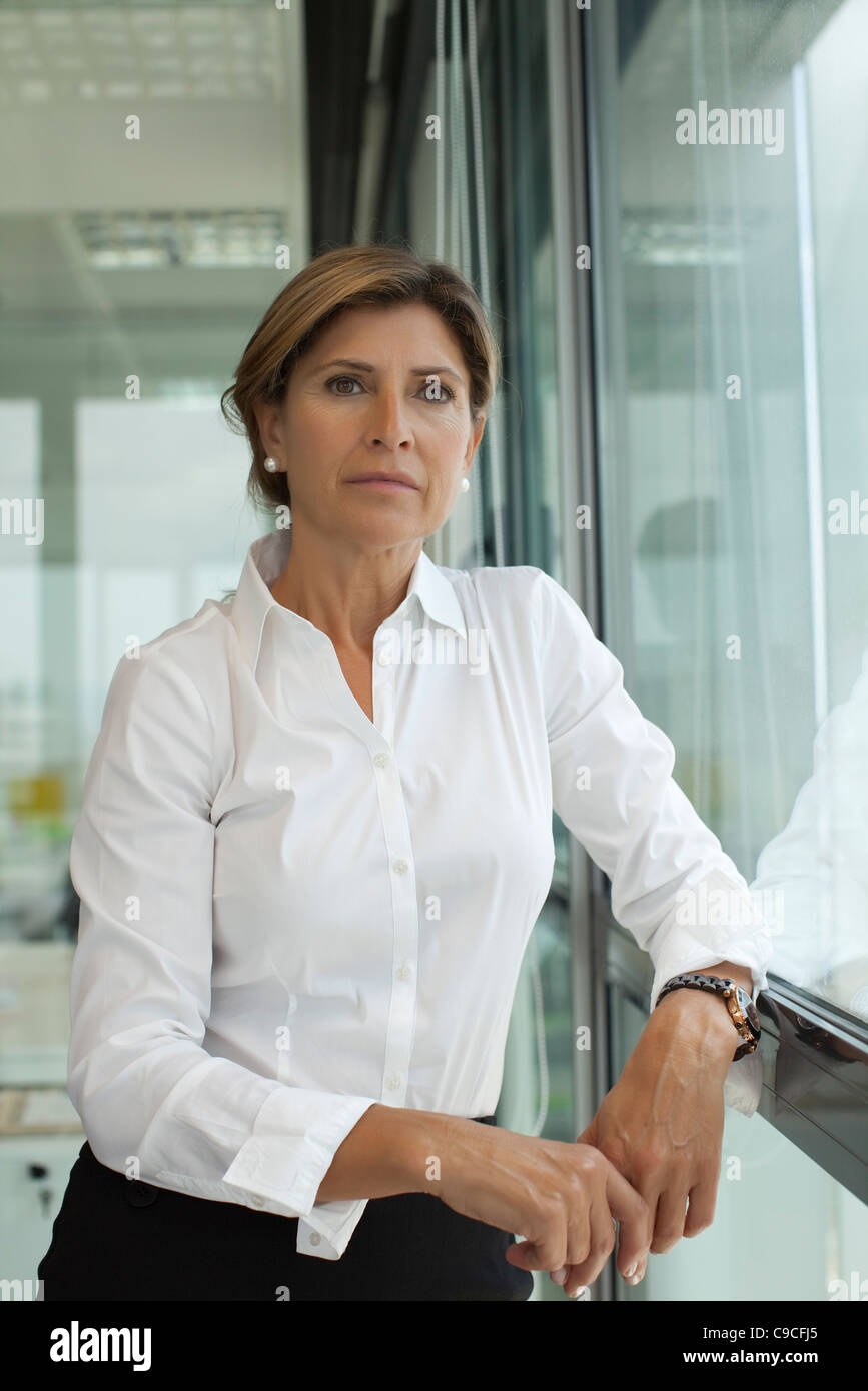 Businesswoman, portrait - Stock Image