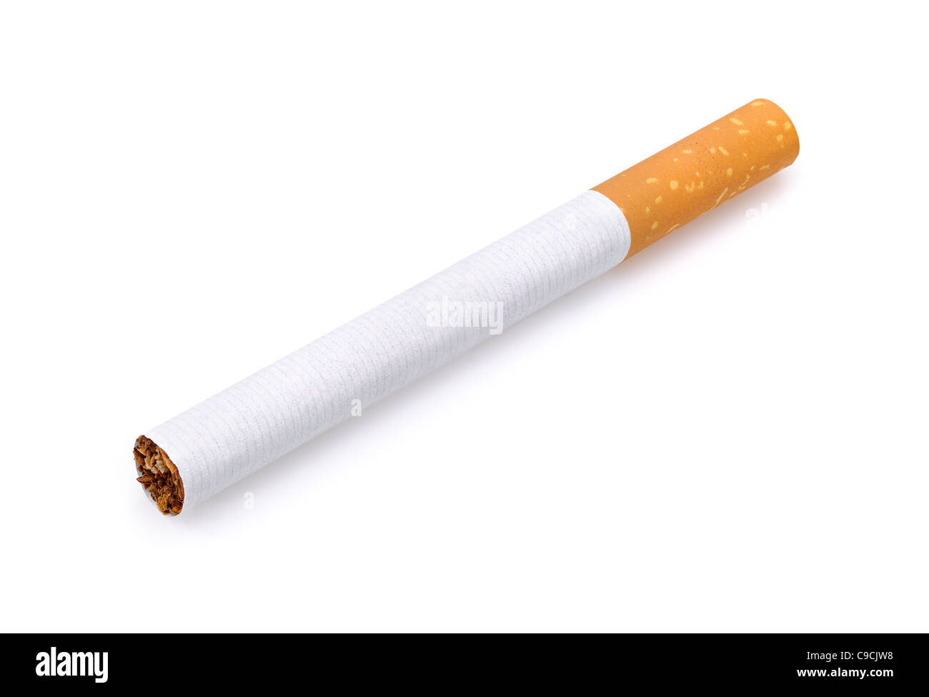 Cigarette, Cut Out. - Stock Image
