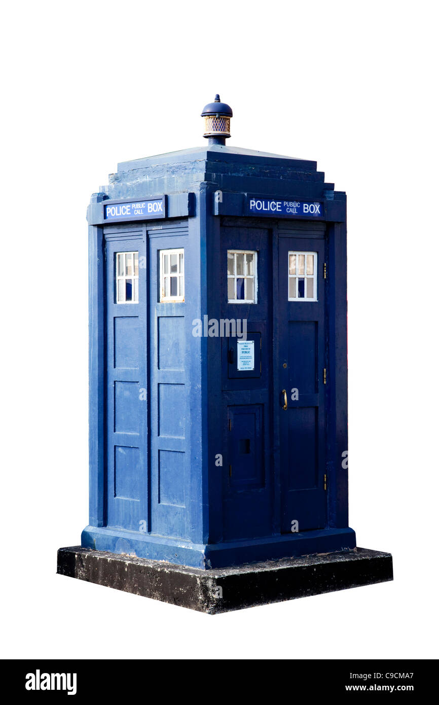Doctor Who Police box - Stock Image