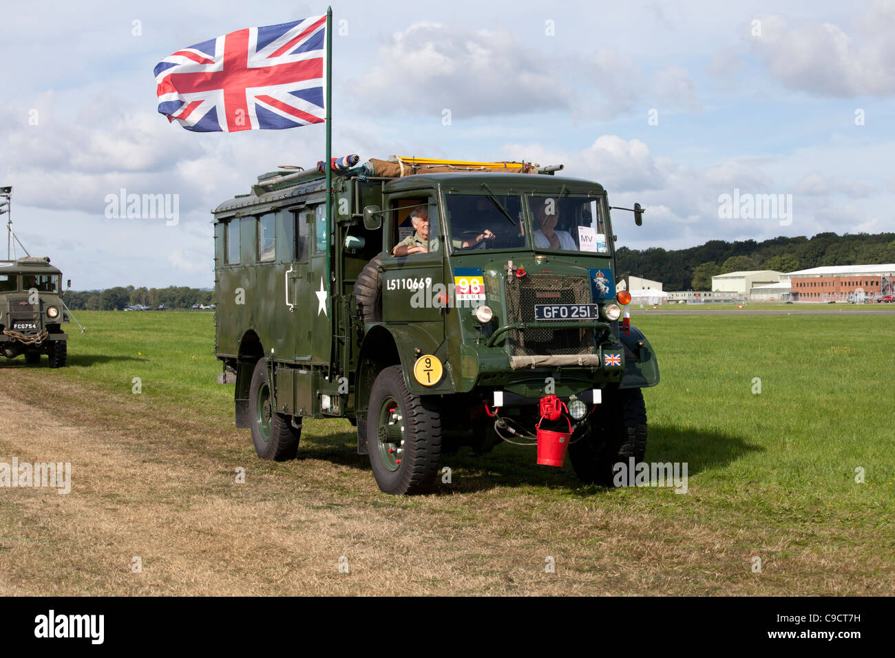 1943 Bedford QLR Military vehicle parade - Stock Image
