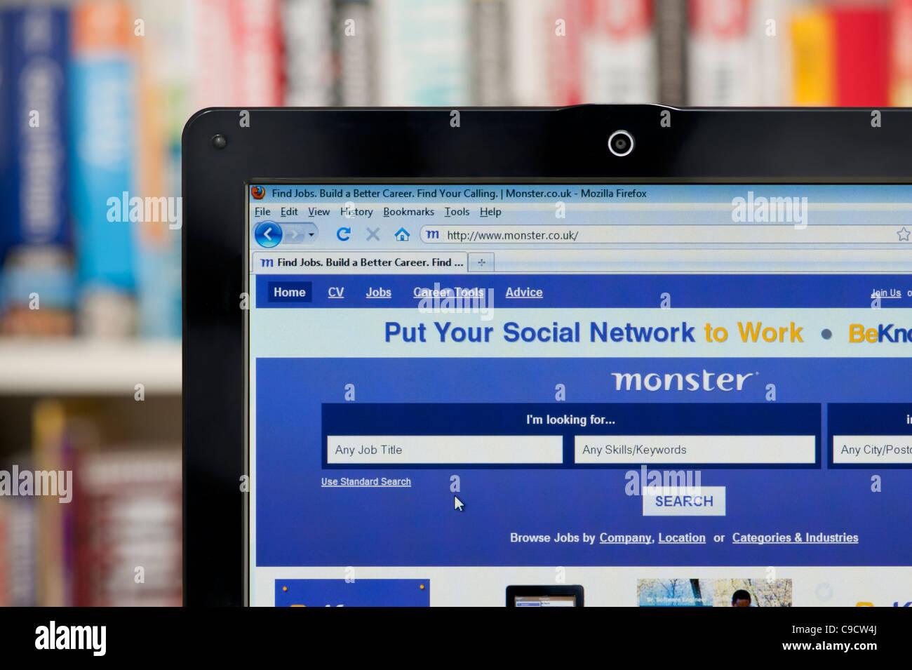 Online Job Search Monster.com Stock Photos & Online Job Search ...