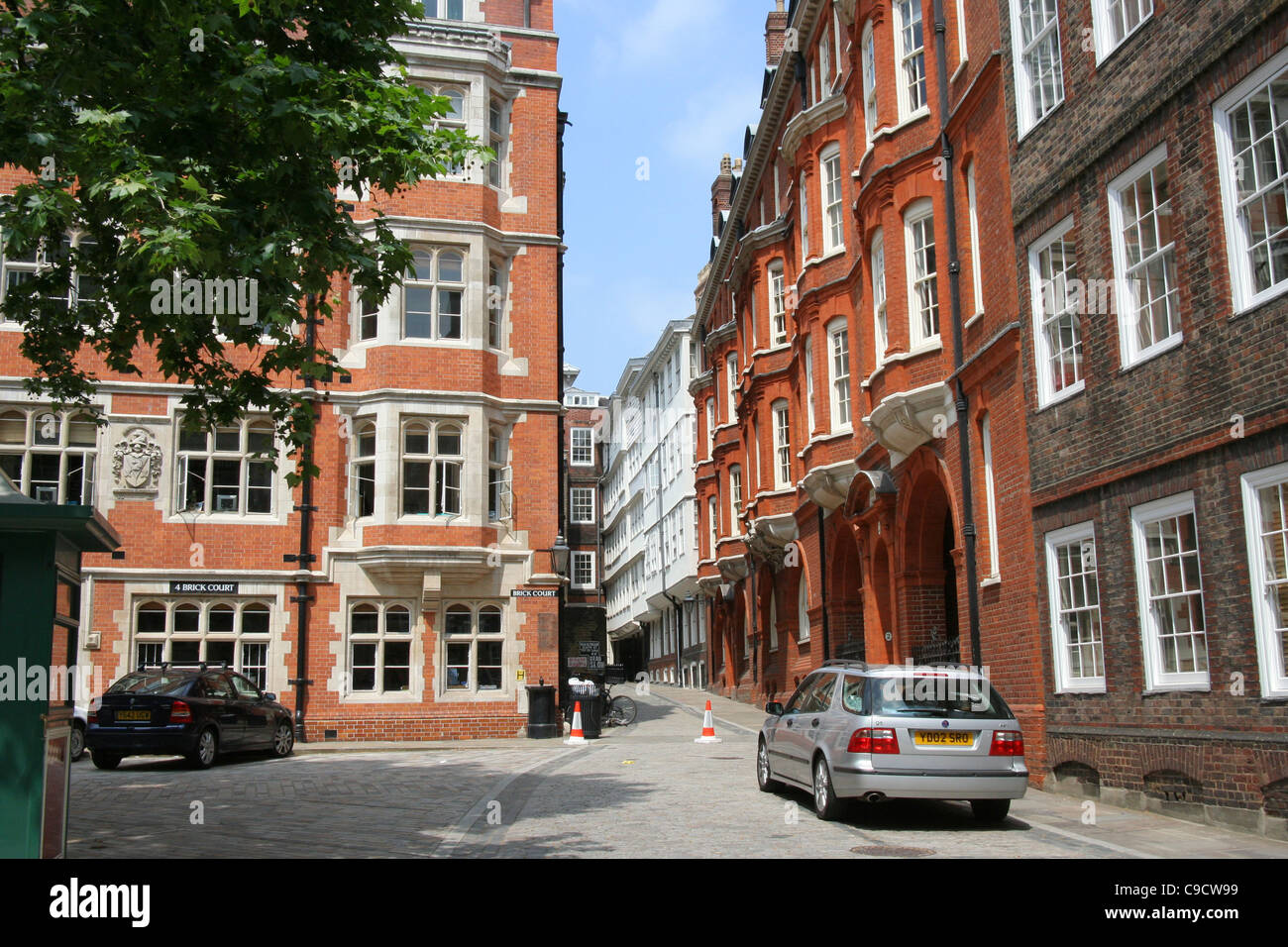 London, Inns of Court, Inner Temple Barrister - Stock Image