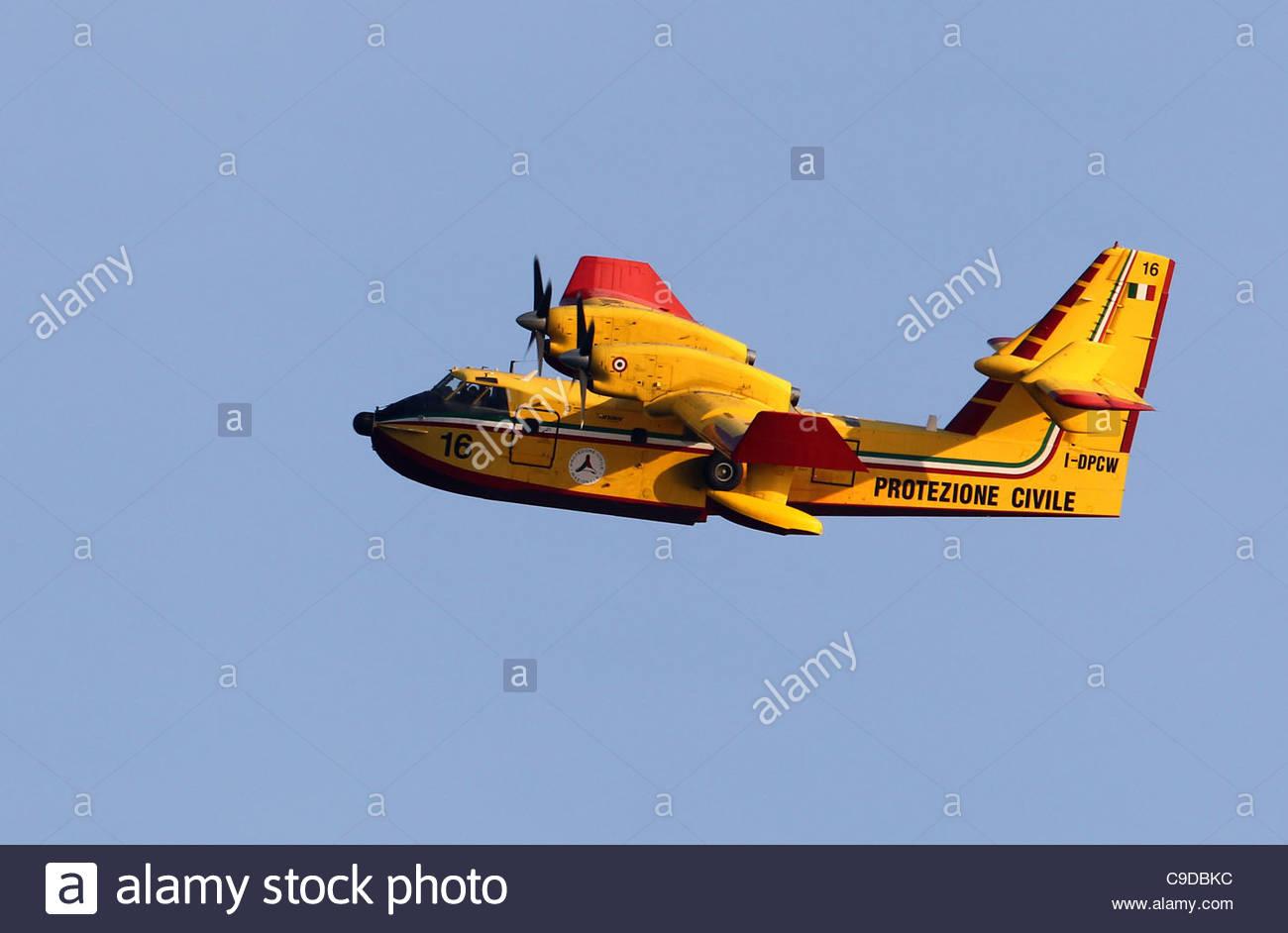 Canadair aircraft - Stock Image