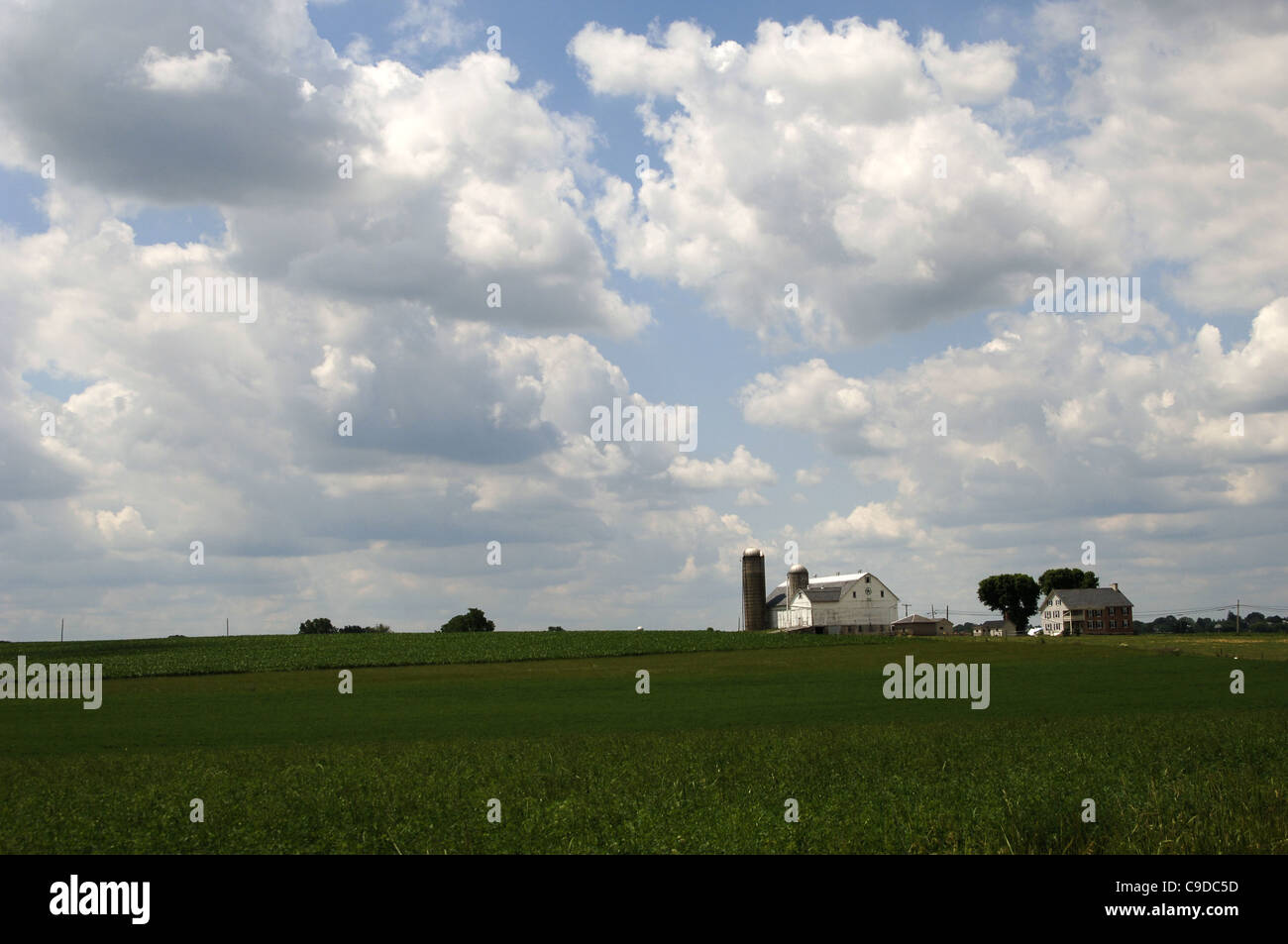 Amish Community. Lancaster County. United States. - Stock Image