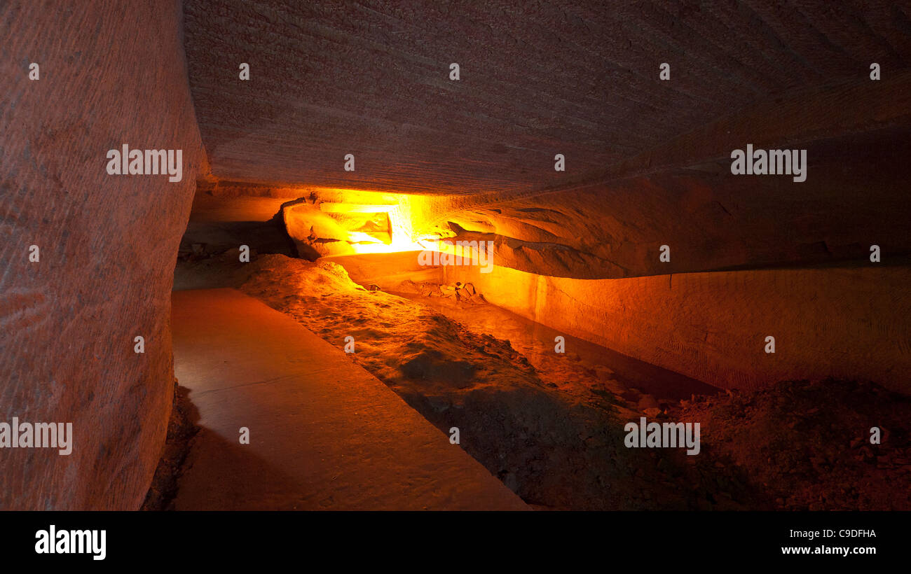 Huashan Grottoes. Anhui. China - Stock Image