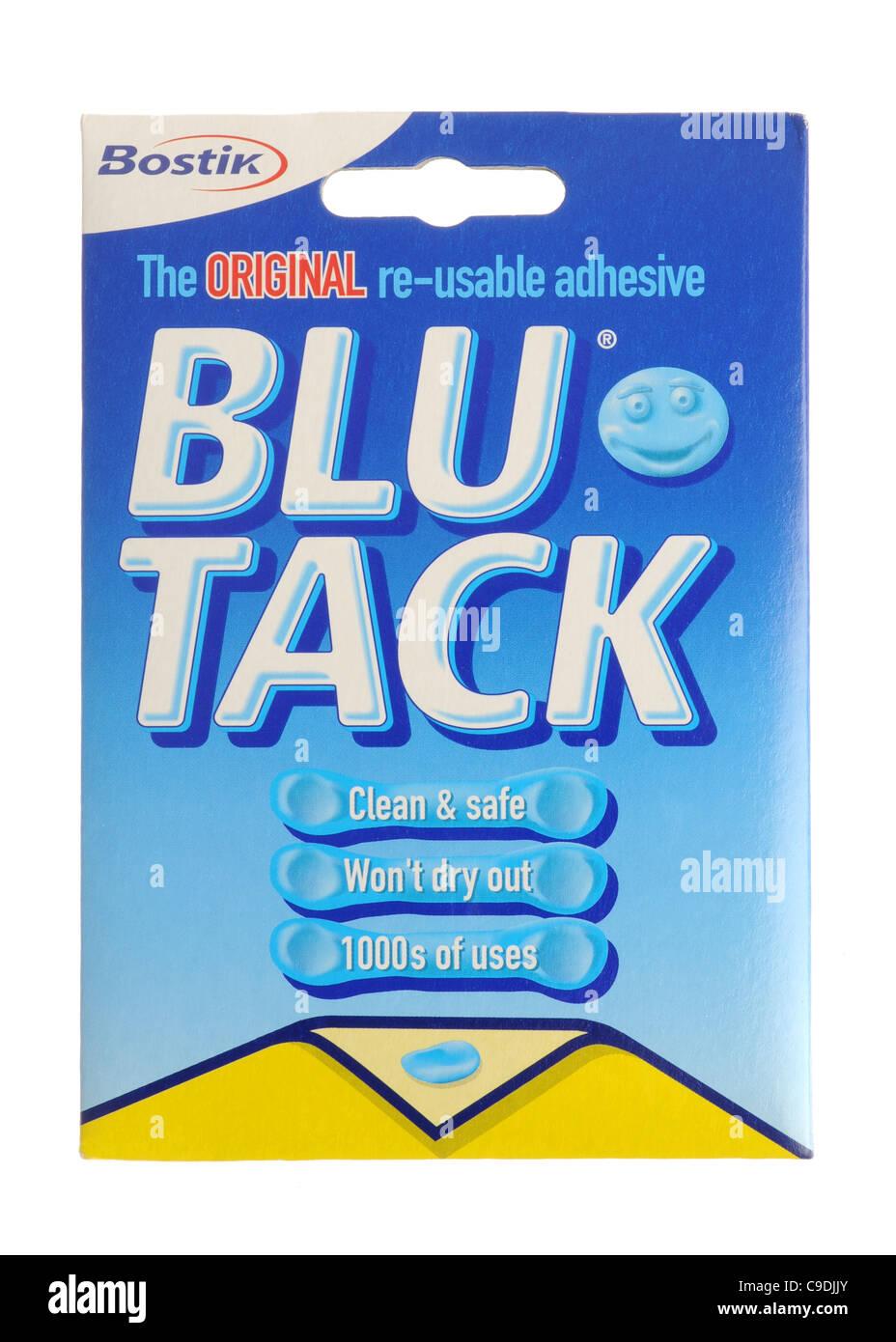 Blu Tack - Stock Image