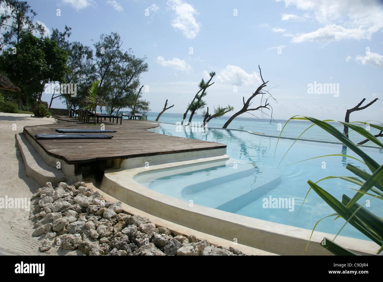 Tanzania, Zanzibar, Pongwe Beach Hotel on Unguja Island - Stock Image