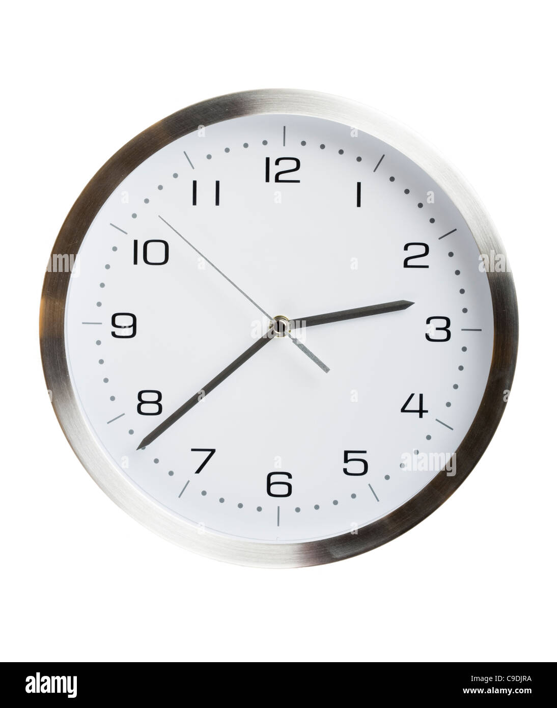 Kitchen clock. - Stock Image
