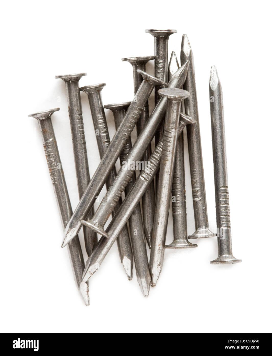 Nails. - Stock Image