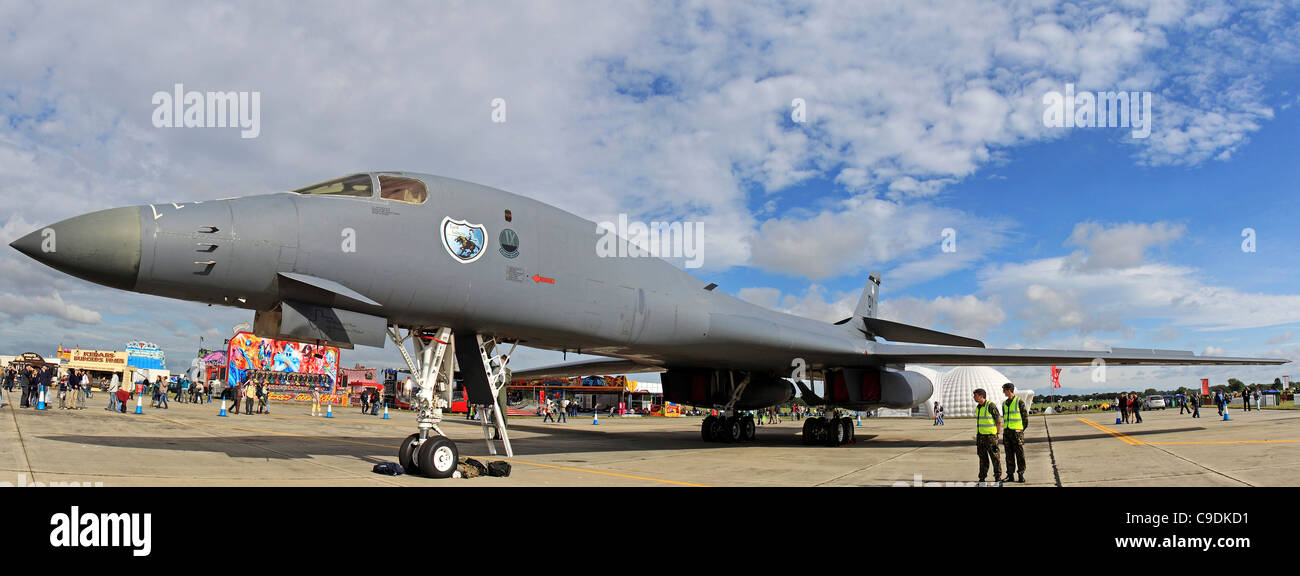 USAF Rockwell (boeing) B-1B Lancer strategic bomber - Stock Image