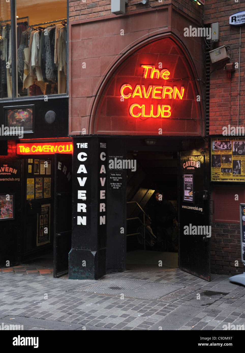 The Cavern Club, Liverpool, Merseyside, Britain, UK - Stock Image