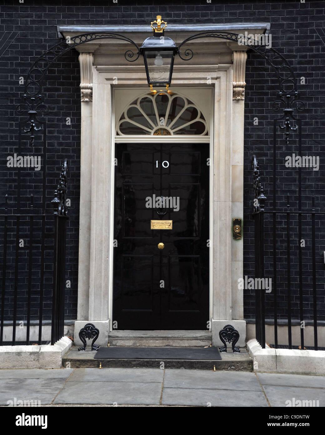10 Downing Street, London, Britain, UK - Stock Image
