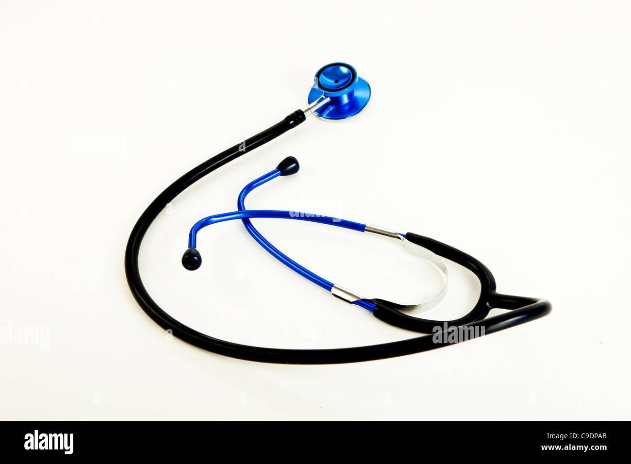 Medical stethoscope -fetoscope Stock Photo