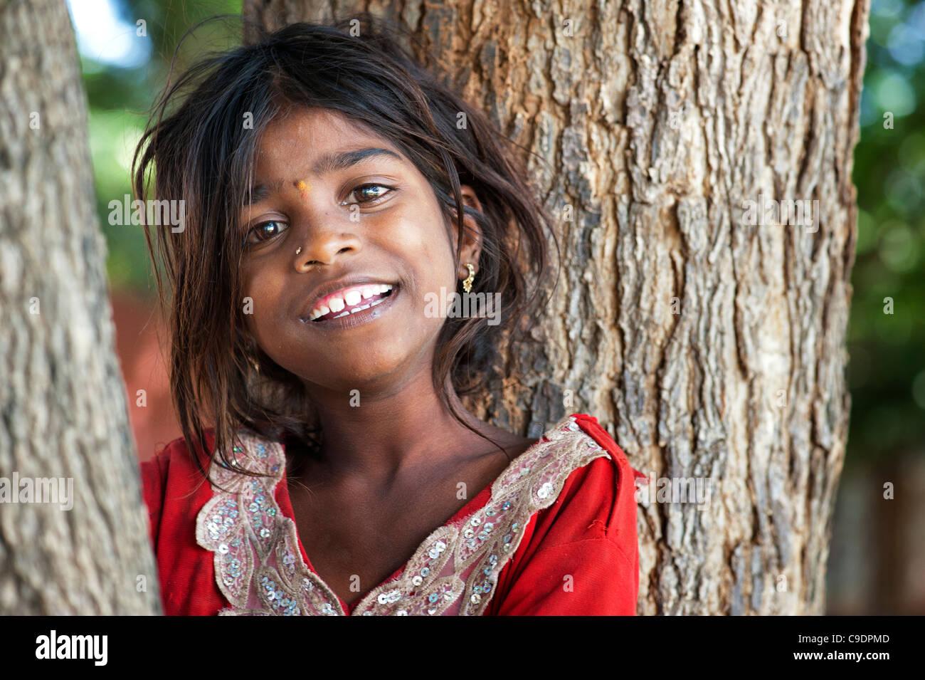 Indian girl poor — 4