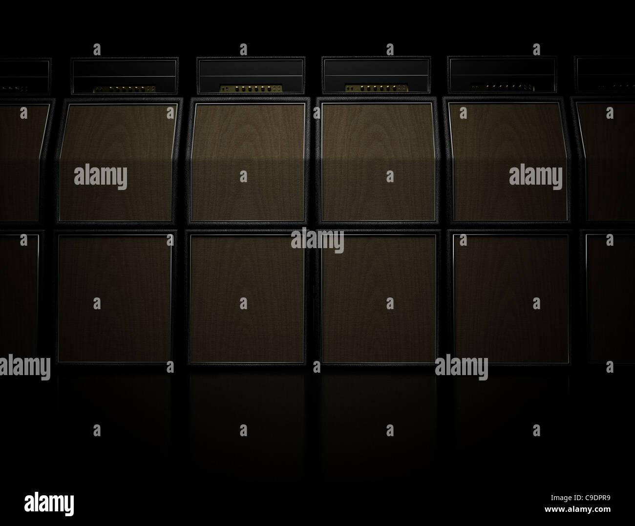 Stack Of Marshall Amps Stock Photos & Stack Of Marshall Amps Stock