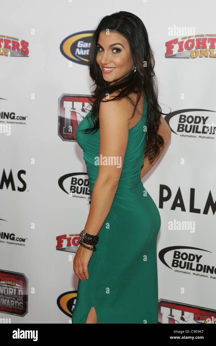 Molly Qerim In Attendance For 4th Annual Fighters Only World Mixed Martial Arts Mma Awards Palms Casino Resort Hotel Las Vegas Nv November 30 2011