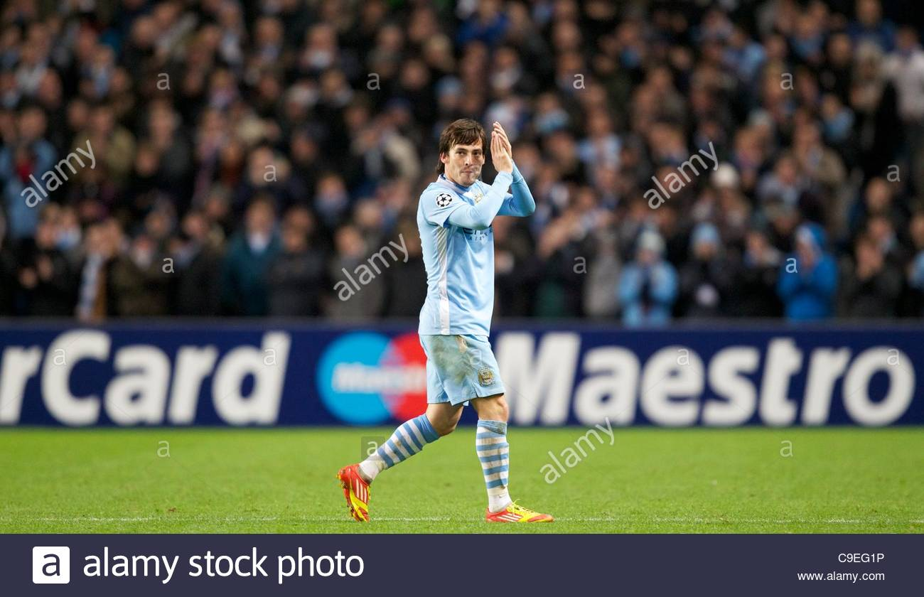 David Silva Champions League High Resolution Stock Photography And Images Alamy