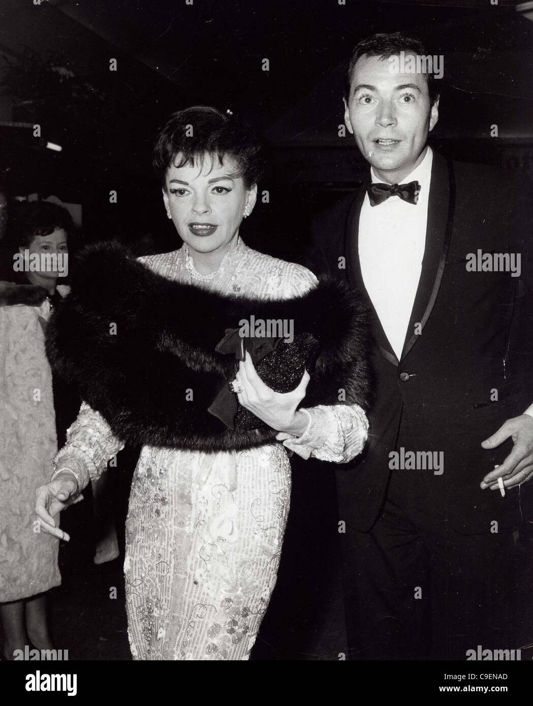Dec. 8, 1964 - JUDY GARLAND with Mark Herron at the new musical Maggie May 1964.Supplied by   Photos, inc.(Credit - Stock Image