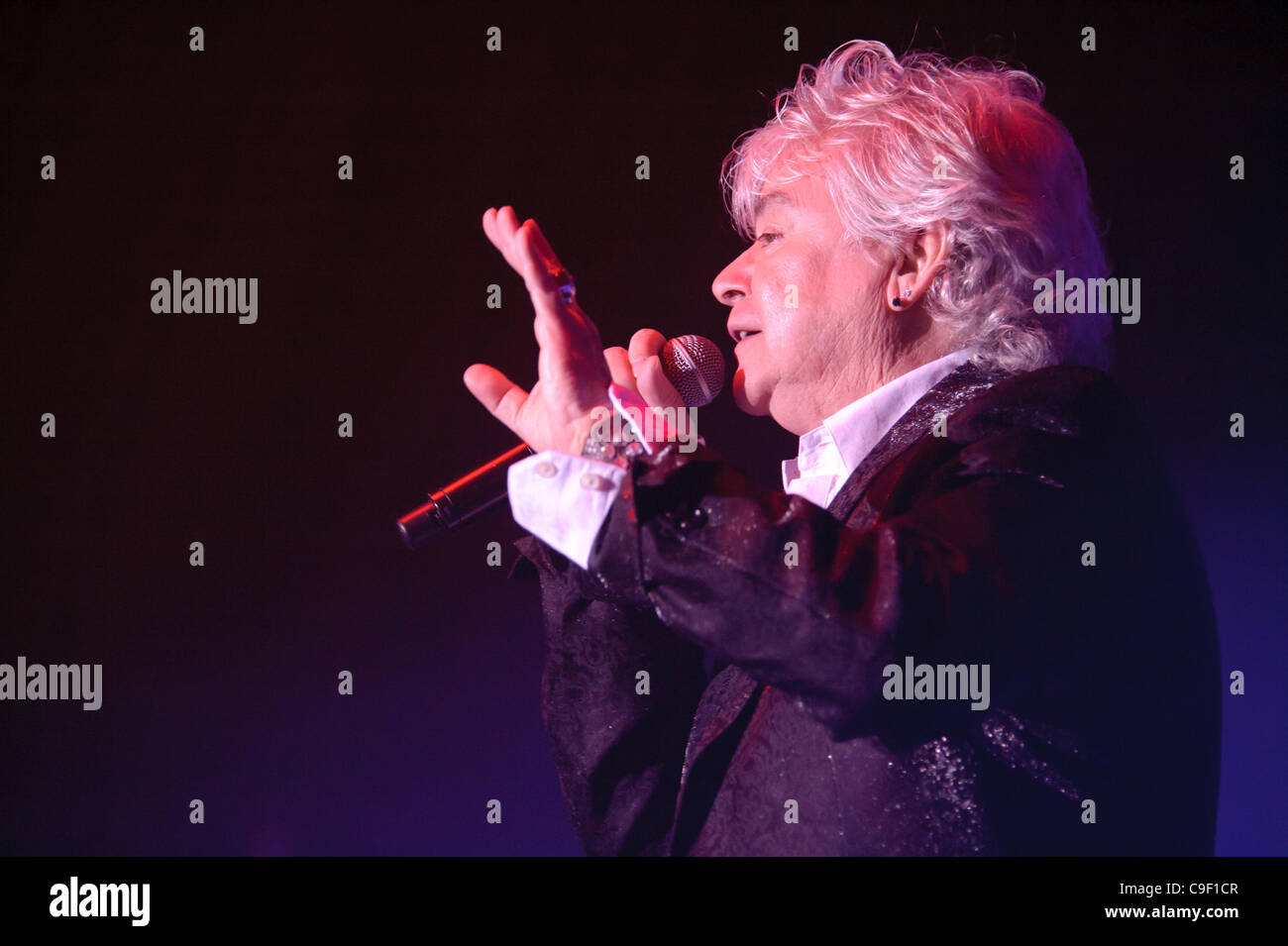 LINCOLN, CA - December 9: Russell Hitchcock with Air Supply performs at Thunder Valley Casino Resort in Lincoln, - Stock Image