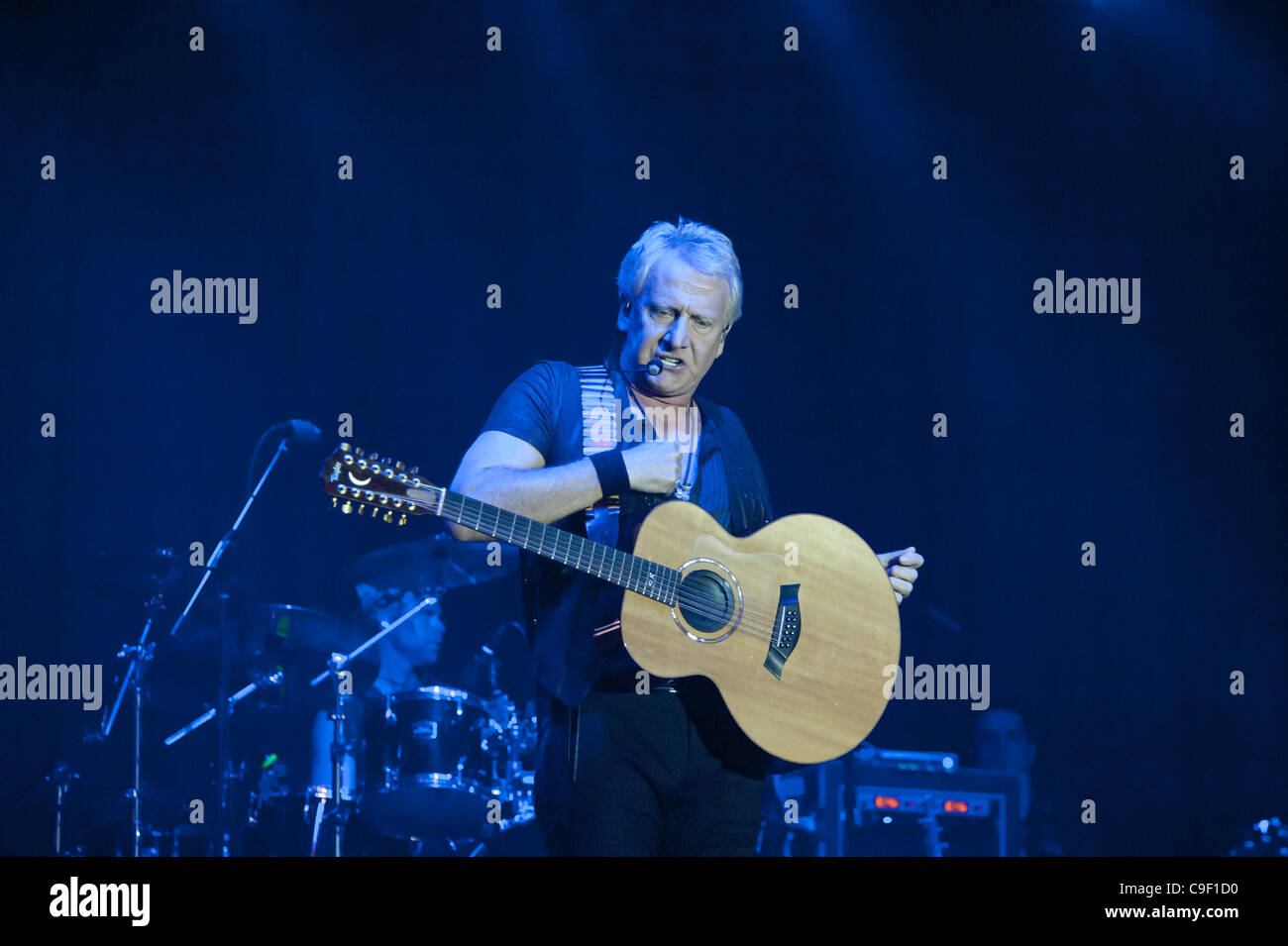 LINCOLN, CA - December 9: Graham Russell with Air Supply performs at Thunder Valley Casino Resort in Lincoln, California - Stock Image