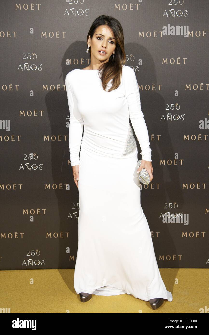Dec. 14, 2011 - Madrid, Madrid, Spain - Monica Cruz attends the photocall for the 250th Anniversary of Moet & - Stock Image