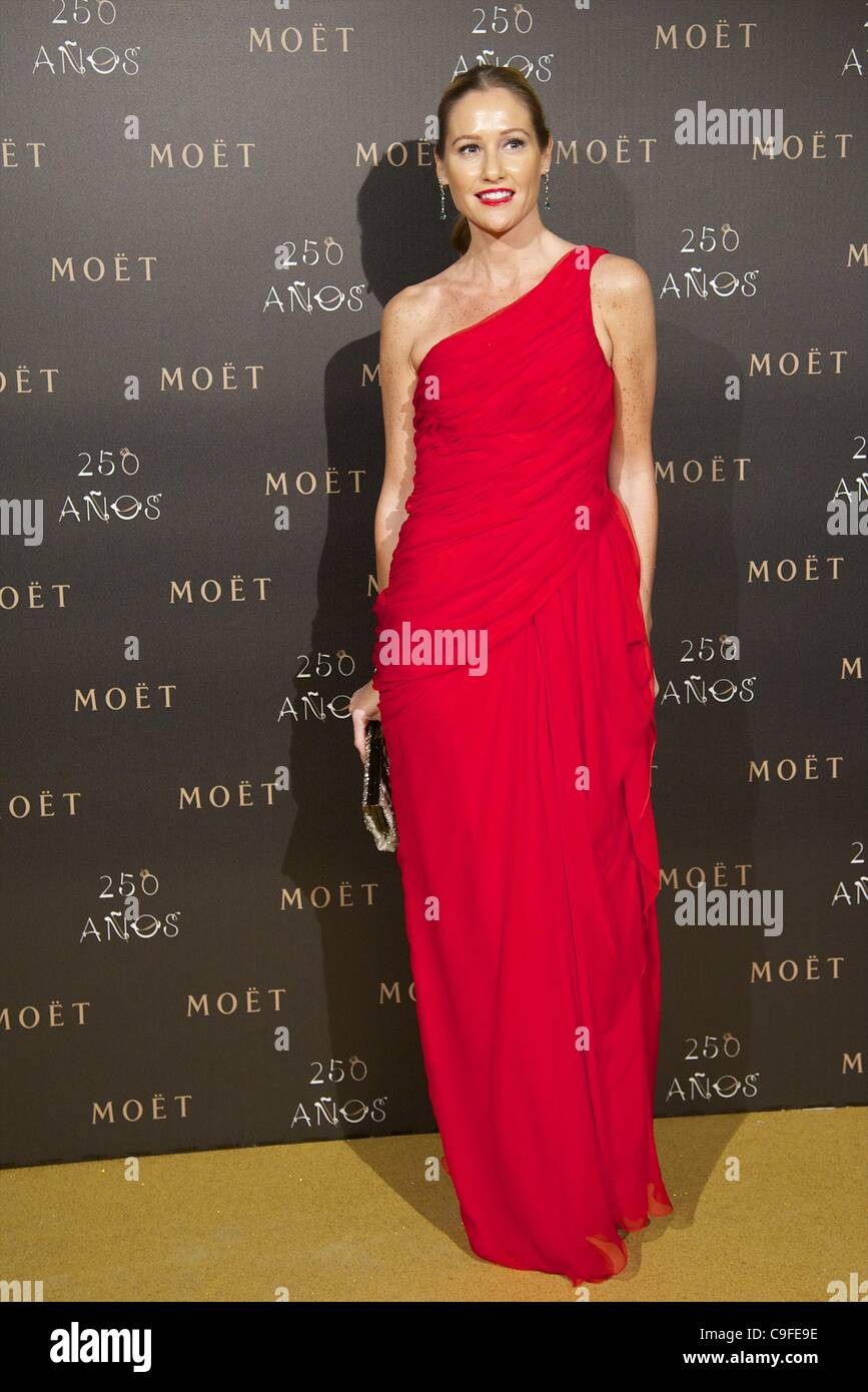 Dec. 14, 2011 - Madrid, Madrid, Spain - Fiona Ferrer attends the photocall for the 250th Anniversary of Moet & - Stock Image