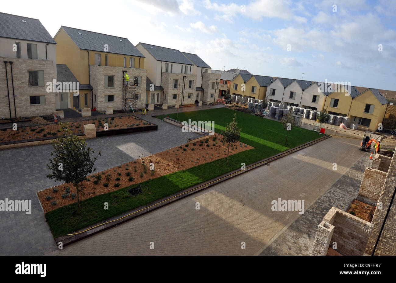 2012 Olympic sailing village at Portland, Dorset, Britain, UK - Stock Image