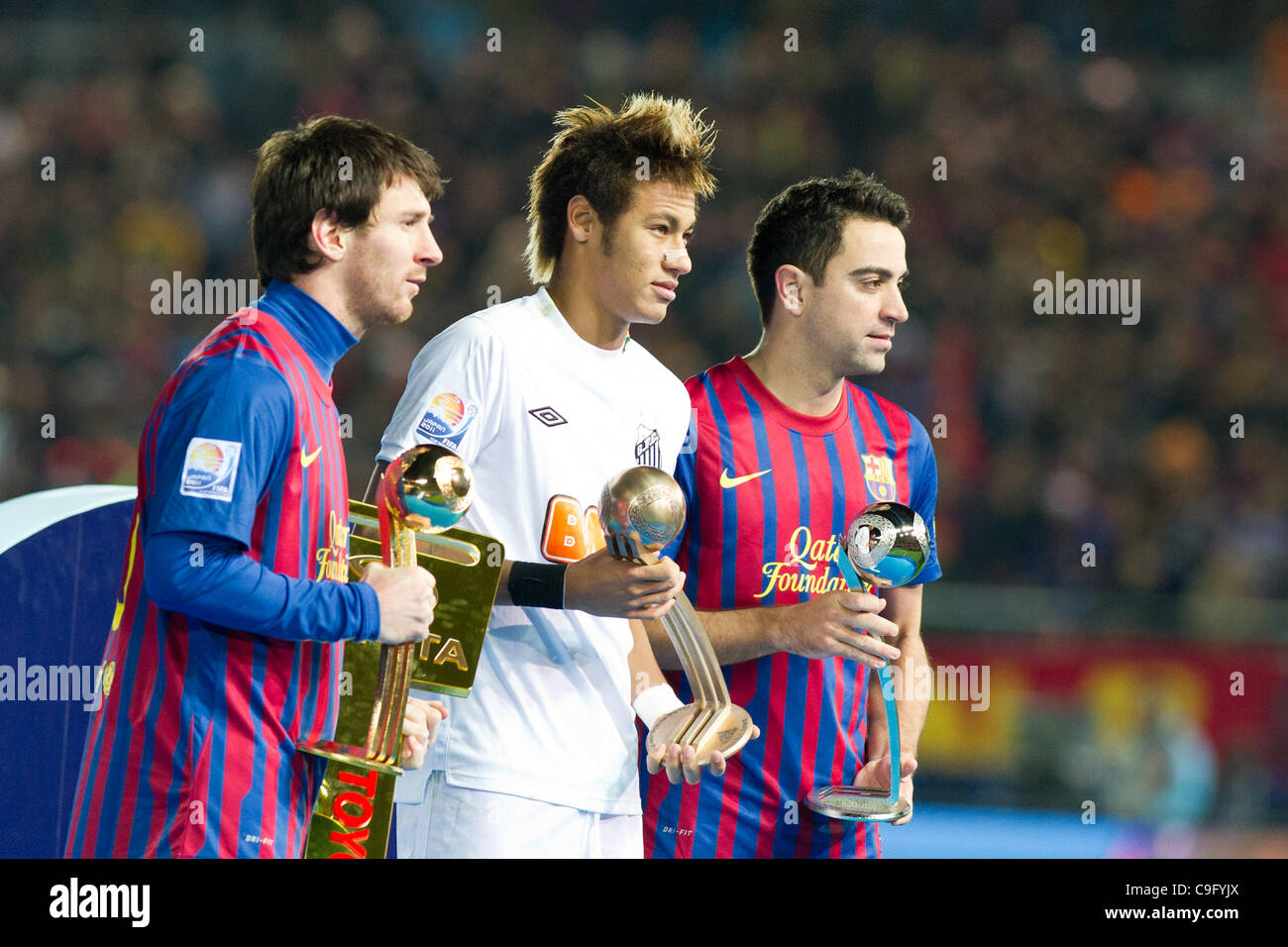 santos l-r barcelona Photo Messi Lionel Stock - Neymar Alamy barcelona Xavi 40303618