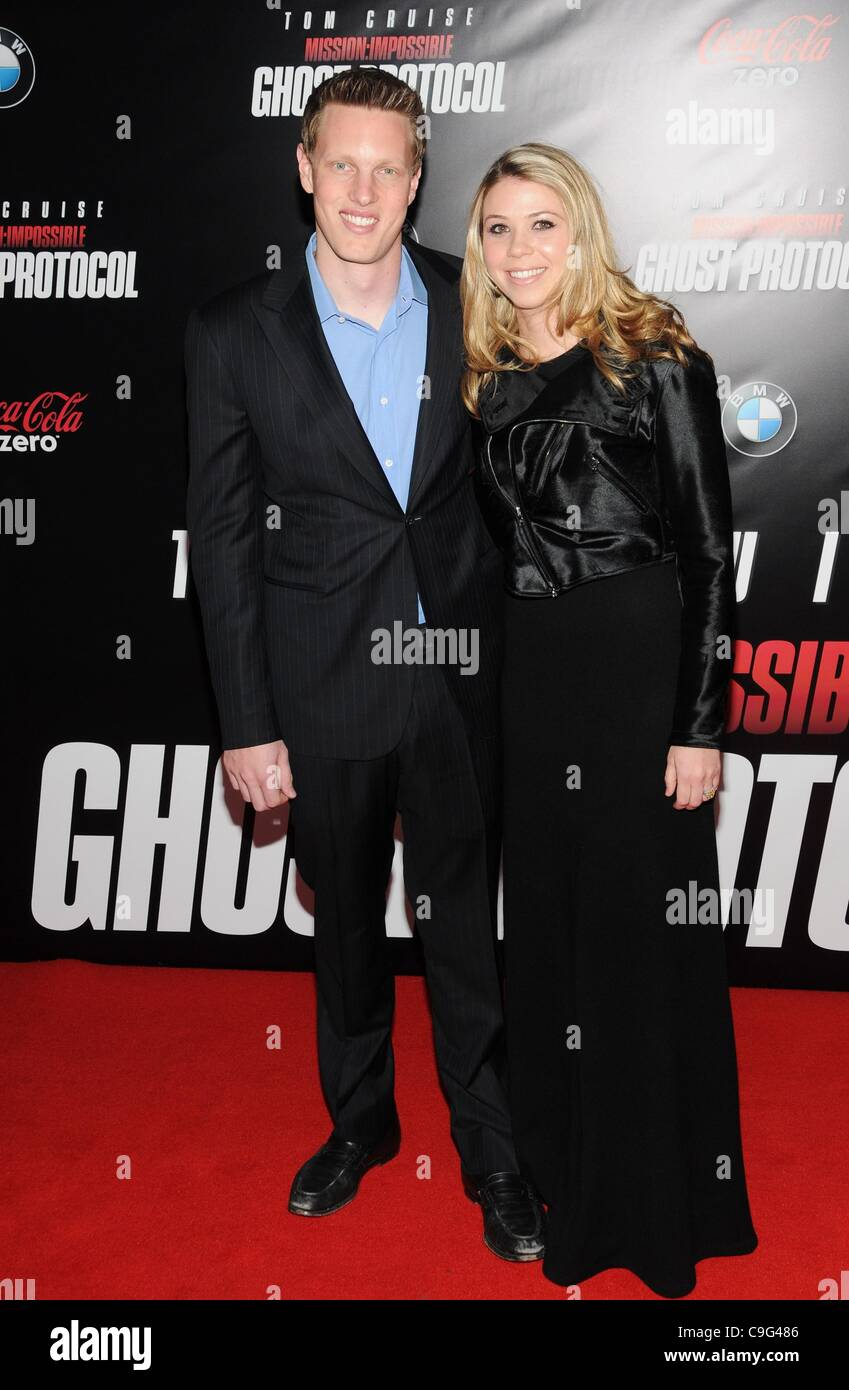 David Ellison  at arrivals for MISSION: IMPOSSIBLE – GHOST PROTOCOL Premiere, The Ziegfeld Theatre, New York, NY Stock Photo