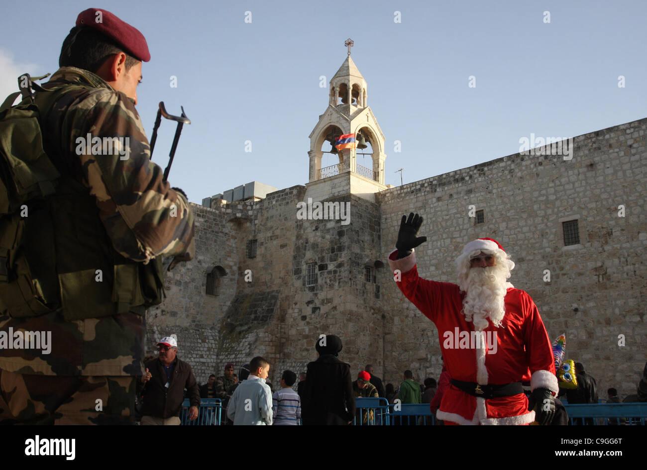 Bethlehem Christmas Dec 25 2020 Dec. 25, 2011   Bethlehem, West Bank, Palestinian Territory Stock