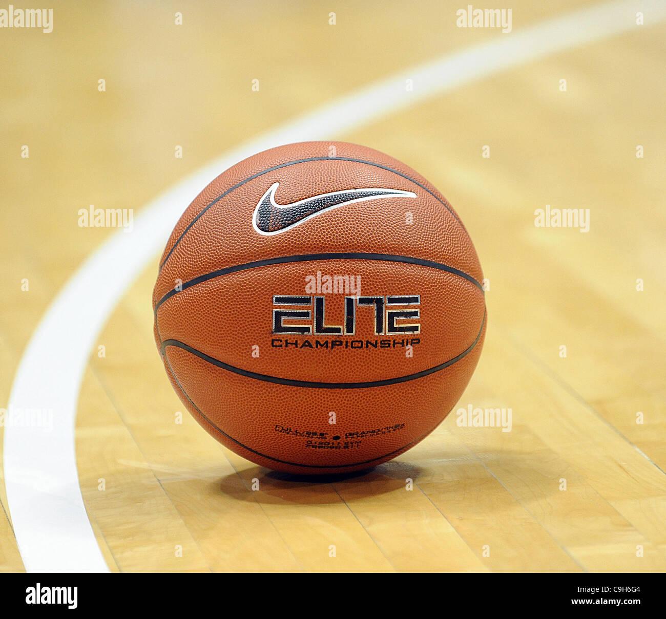 Jan. 01, 2012 - Chapel Hill, North Carolina; USA -  Basketball with a Nike Check as the University of North Carolina - Stock Image