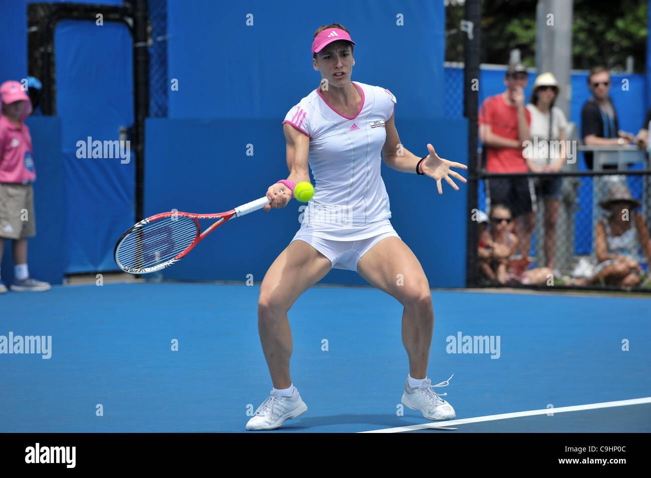 Pavlyuchenkova During The Apia International Sydney Tennis Tournament Australian Open Series At Olympic Park CentreHomebush