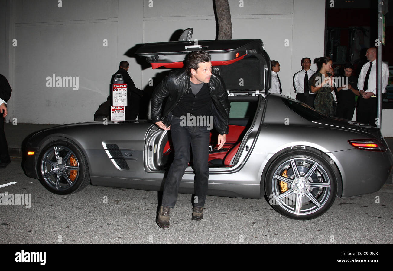 Mclaren Beverly Hills >> Patrick Dempsey Arrives In His Mclaren Car Mclaren Beverly