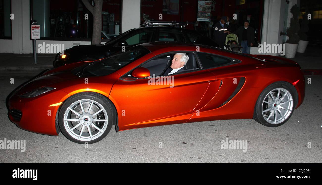 Mclaren Beverly Hills >> Jay Leno Arrives In His Mclaren Car Mclaren Beverly Hills Store
