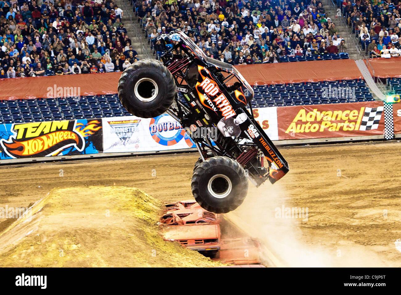 Monster Jam Freestyle Stock Photos Monster Jam Freestyle Stock - Monster car show houston tx