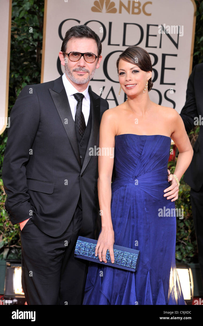 Jan. 15, 2012 - Los Angeles, California, U.S. - BERENICE BEJO, nominated for best supporting actress in a supporting Stock Photo