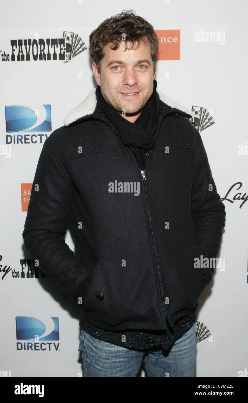 Joshua Jackson at the after-party for LAY THE FAVORITE Post-Premiere Cast Party at the 2012 Sundance Film Festival, - Stock Image